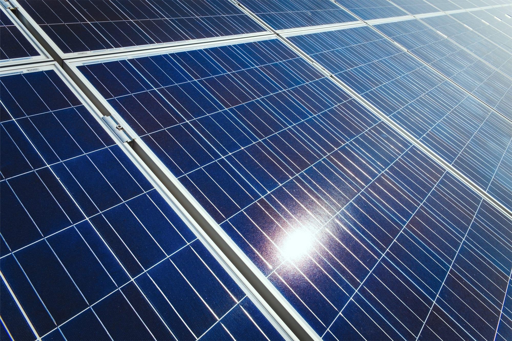 Panneau solaire propre | Sketch Nanotechnologies